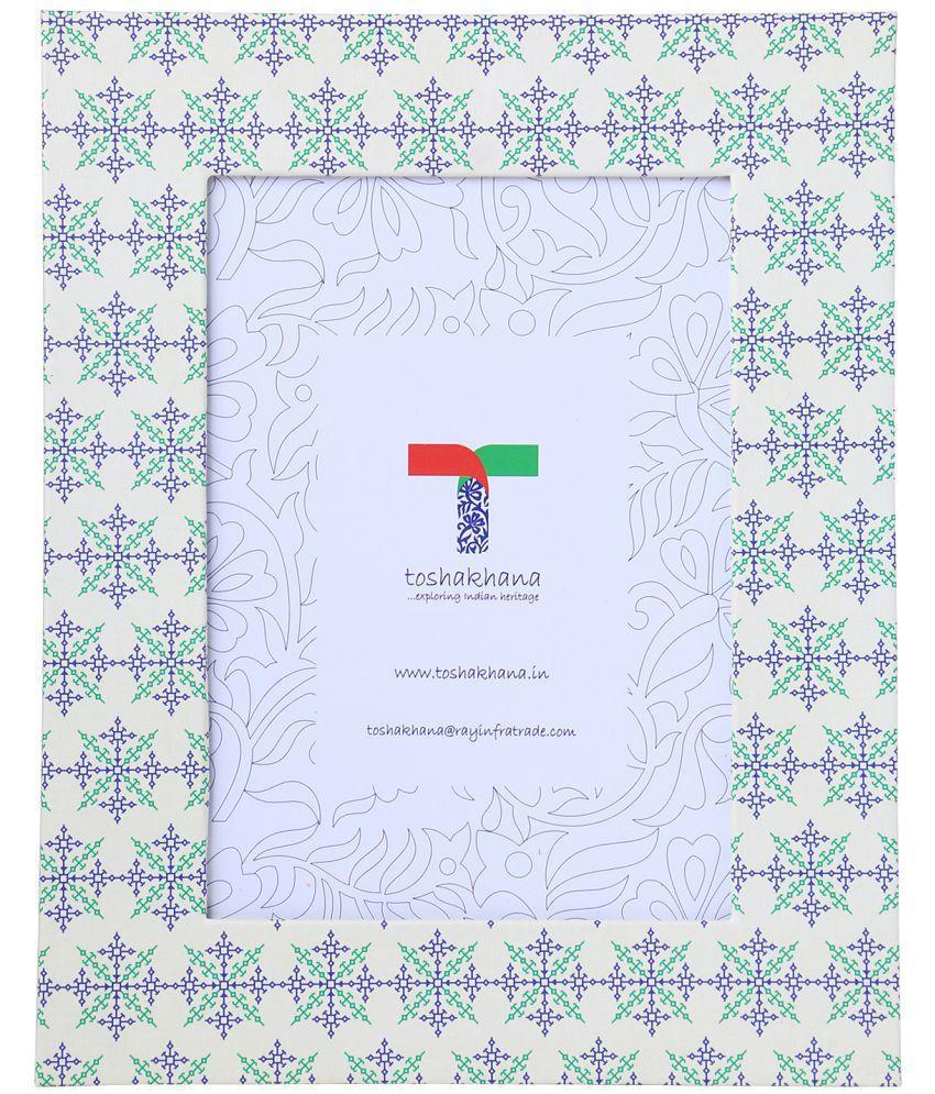 toshakhana Paper TableTop Multicolour Single Photo Frame - Pack of 1