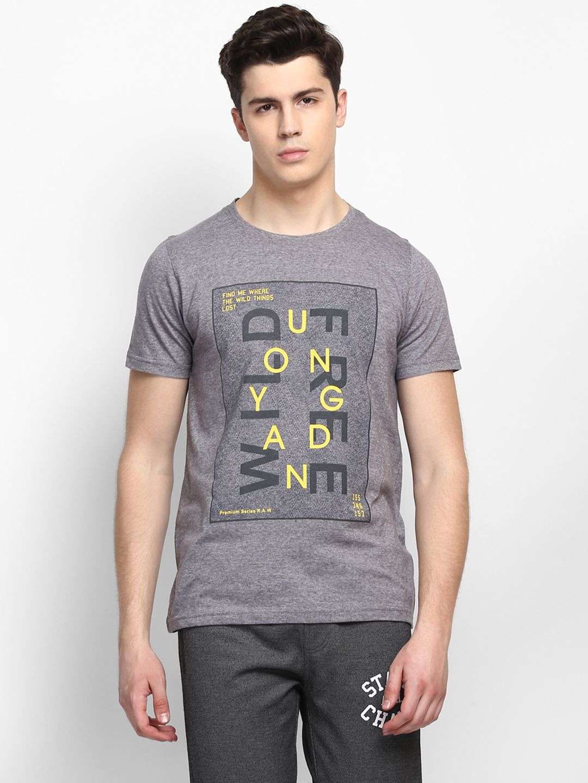 MKH Grey Round T-Shirt