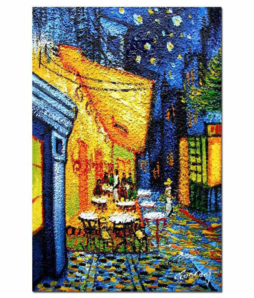 Anwesha's Gallery Wrapped Digitally Printed Canvas Painting With Frame