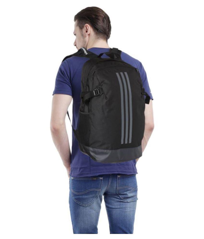 Adidas Black BP POWER IV L Backpack - Buy Adidas Black BP POWER IV L ... 574af699bd76b