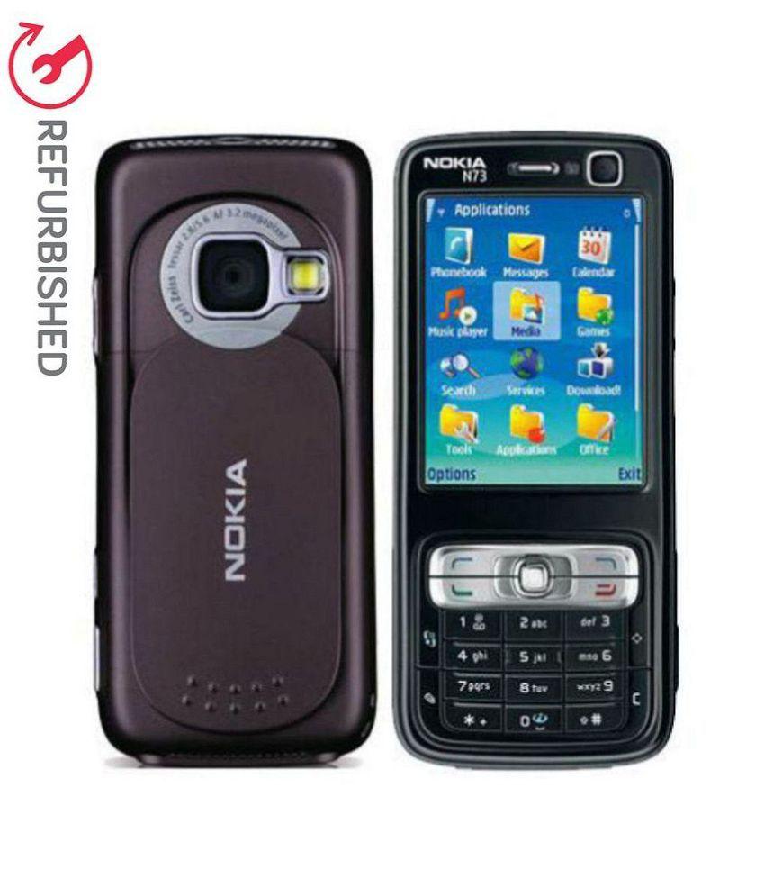 REFURBISHED Nokia N73 32 MB Black