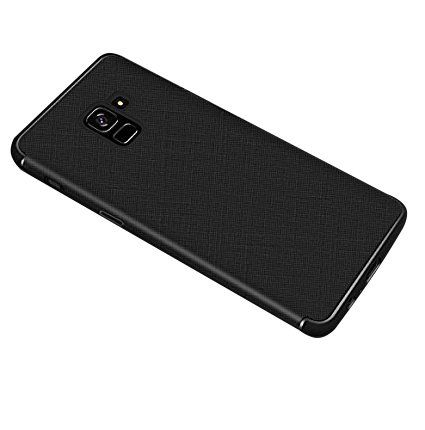 Samsung Galaxy A8 2018 Plain Cases KolorFish - Black - Plain Back Covers Online at Low Prices   Snapdeal India