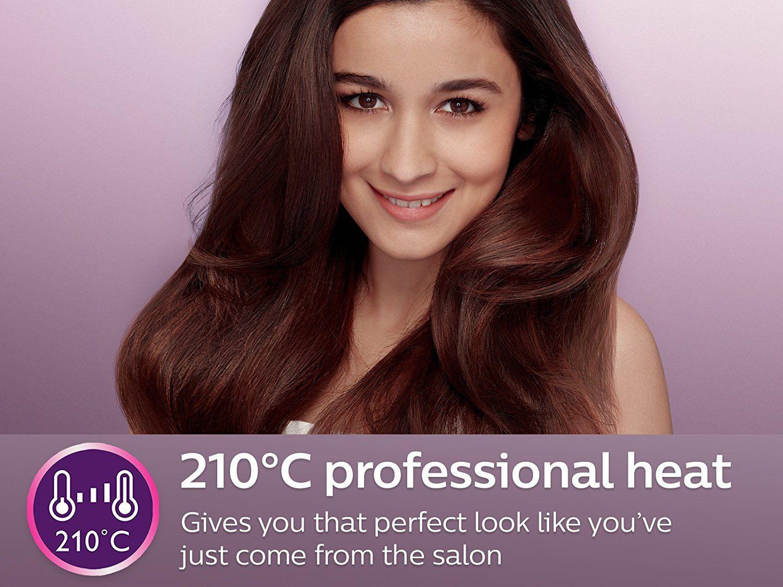 ... Philips HP8302 Essential Selfie Straightener (Black) ...
