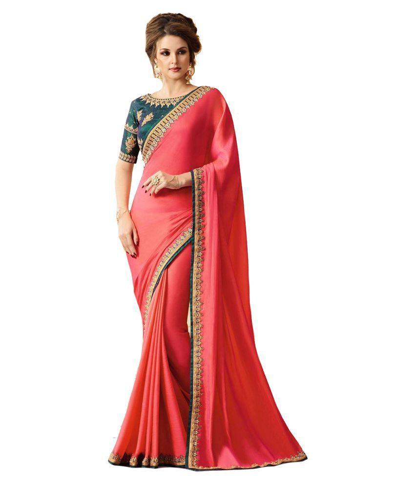 Mahantam Fashion Multicoloured Georgette Saree