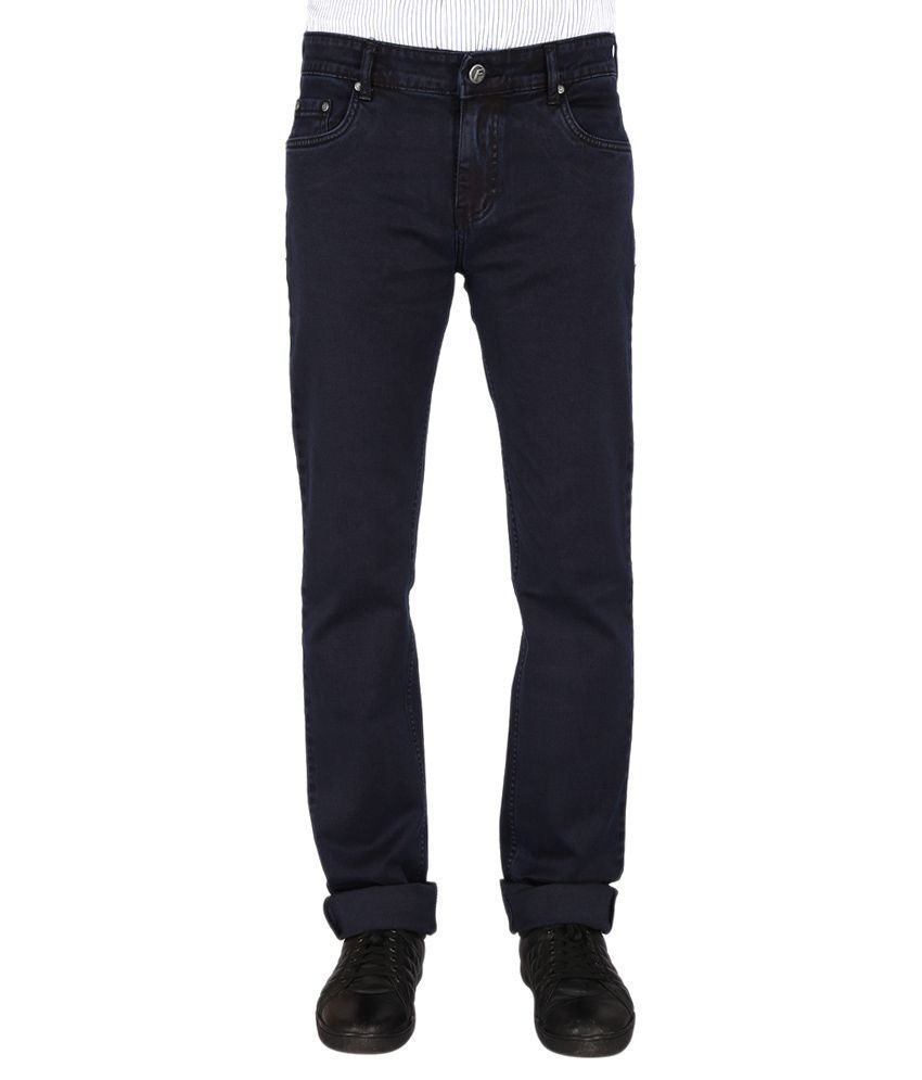Flags Blue Slim Jeans
