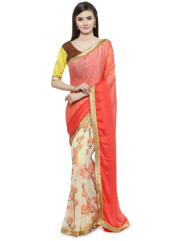 Shaily Multicoloured Jacquard Saree