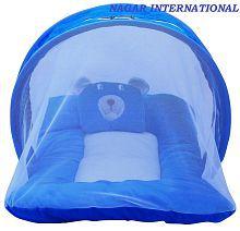 2 ADDED. NAGAR INTERNATIONAL Blue Baby Bed ...