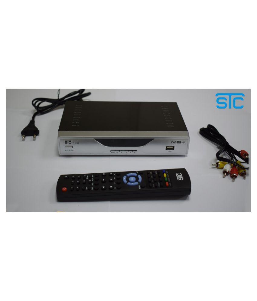 Buy STC WiFi Digital Satellite Receiver for DD Free Dish Multimedia