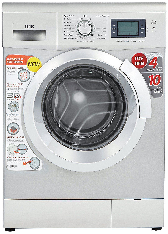 Ifb 7 Kg Elite Aqua Sx Fully Automatic Fully Automatic Front Load Washing Machine