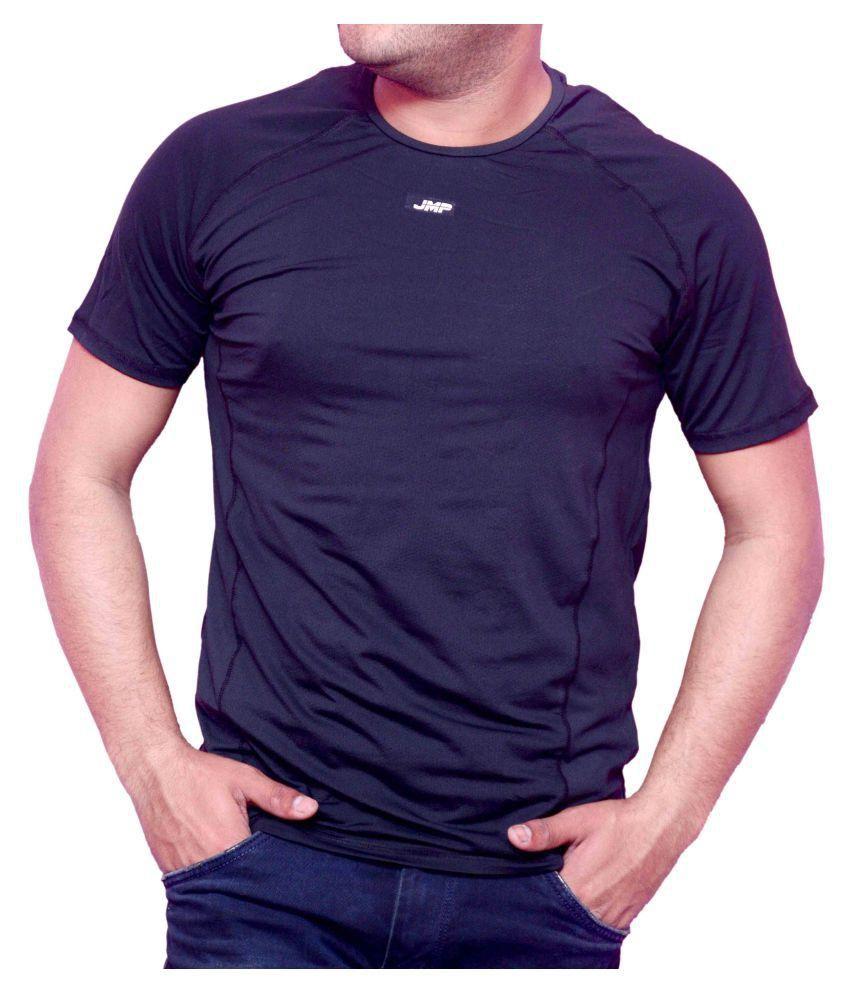 JMP Black Round T-Shirt