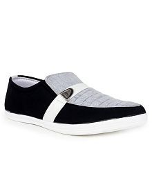 Beonza Gray Canvas Shoe Shoes