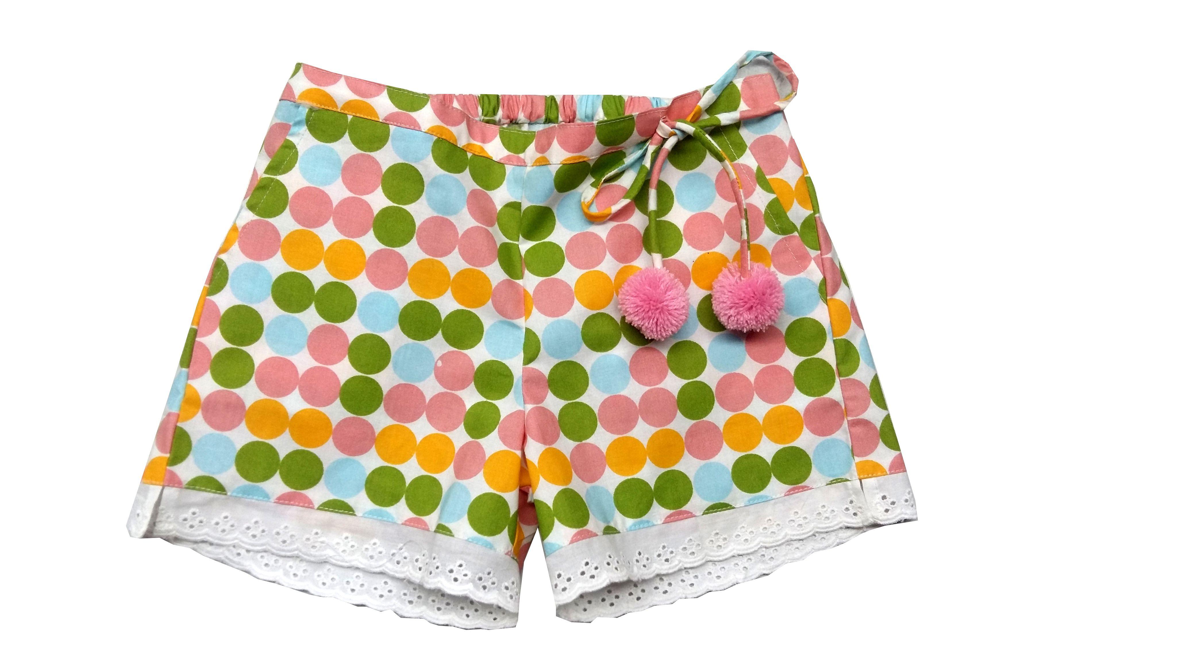 Always Kids Multi Dot Daisy Shorts