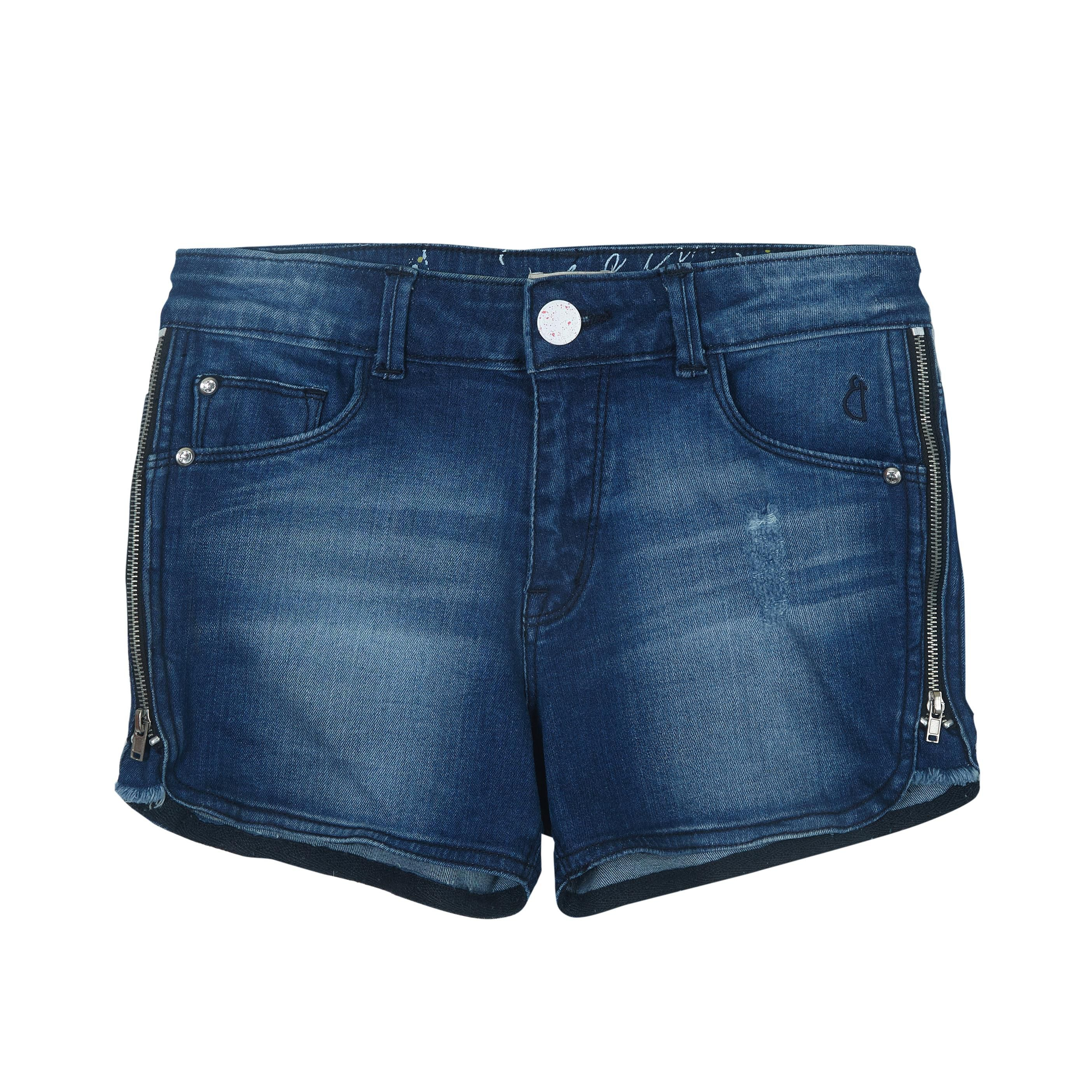 Gini & Jony Blue  Shorts