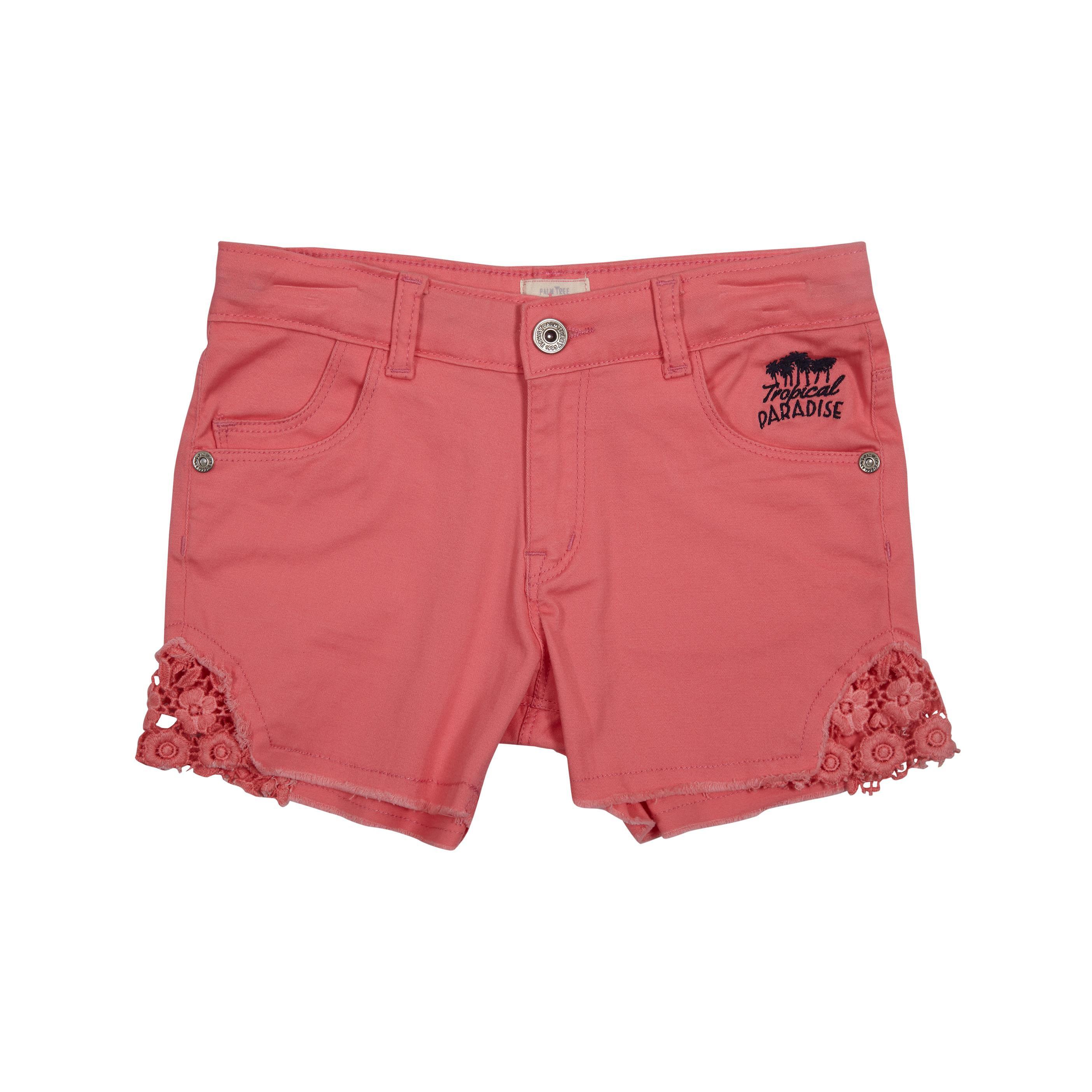 Palm Tree Pink  Hot Shorts