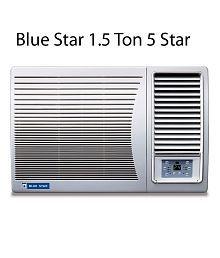 Blue Star 1.5 Ton 5 Star 5W18LC / 5W18GA / 5W18LA Window Air Conditioner White(2018 BEE Rating) Free Standard Installation
