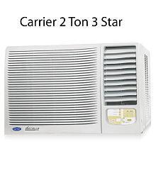 Carrier 2.0 TR 3 Star Estrella Window Air Conditioner(2016-17 BEE Rating)