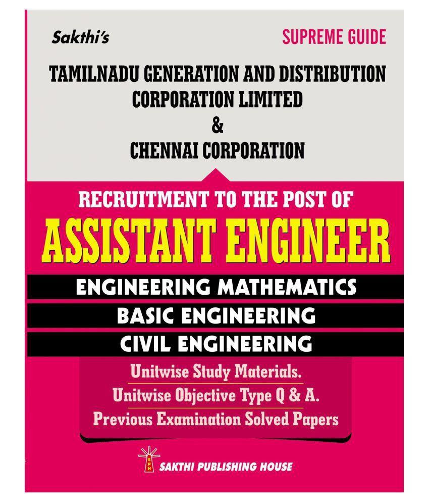 tneb tangedco exam 2018 civil engineering guide for assistant rh snapdeal com Cicerone Exam Study Guide CDM Exam Study Questions