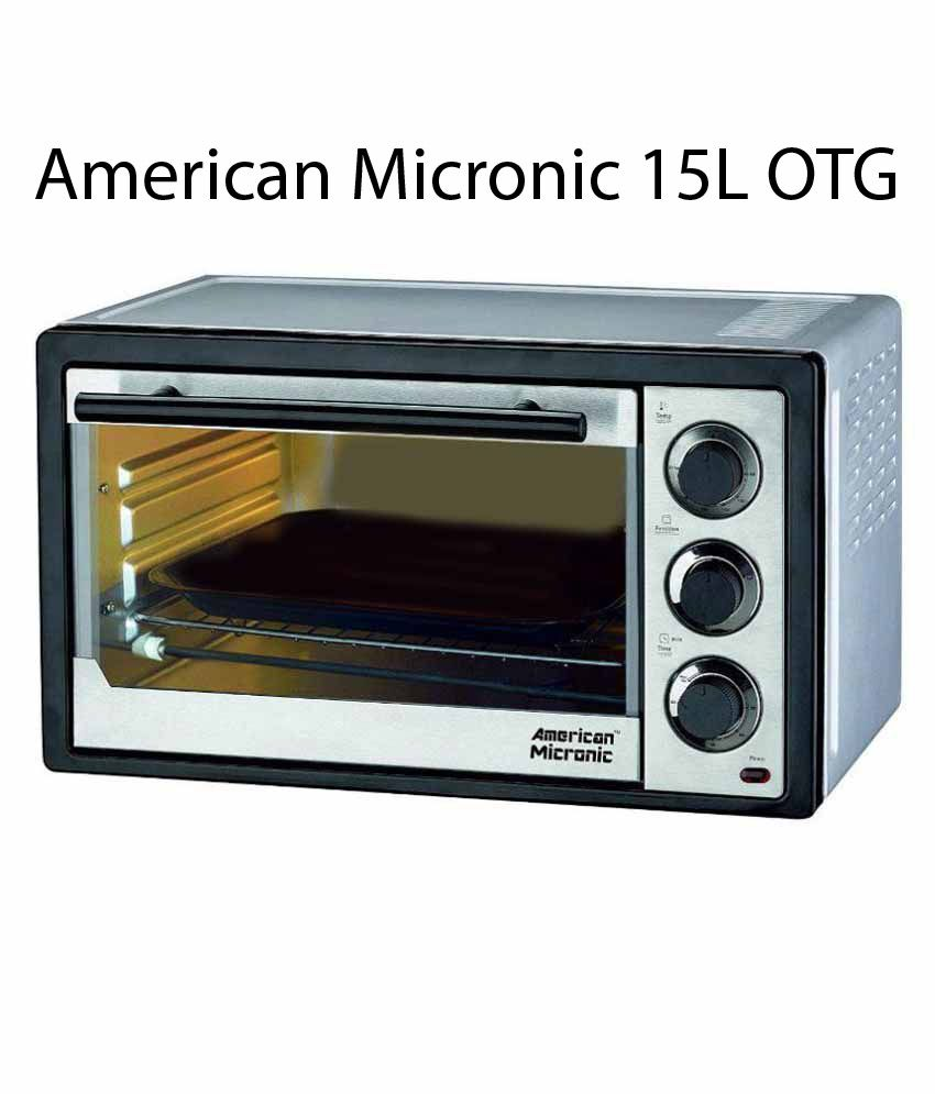 American Micronic 15L Oven Toaster Grill OTG (1300W)