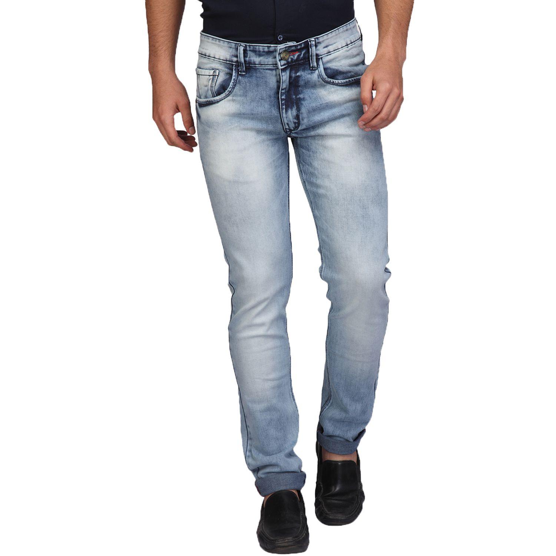 A La Mode Blue Skinny Jeans