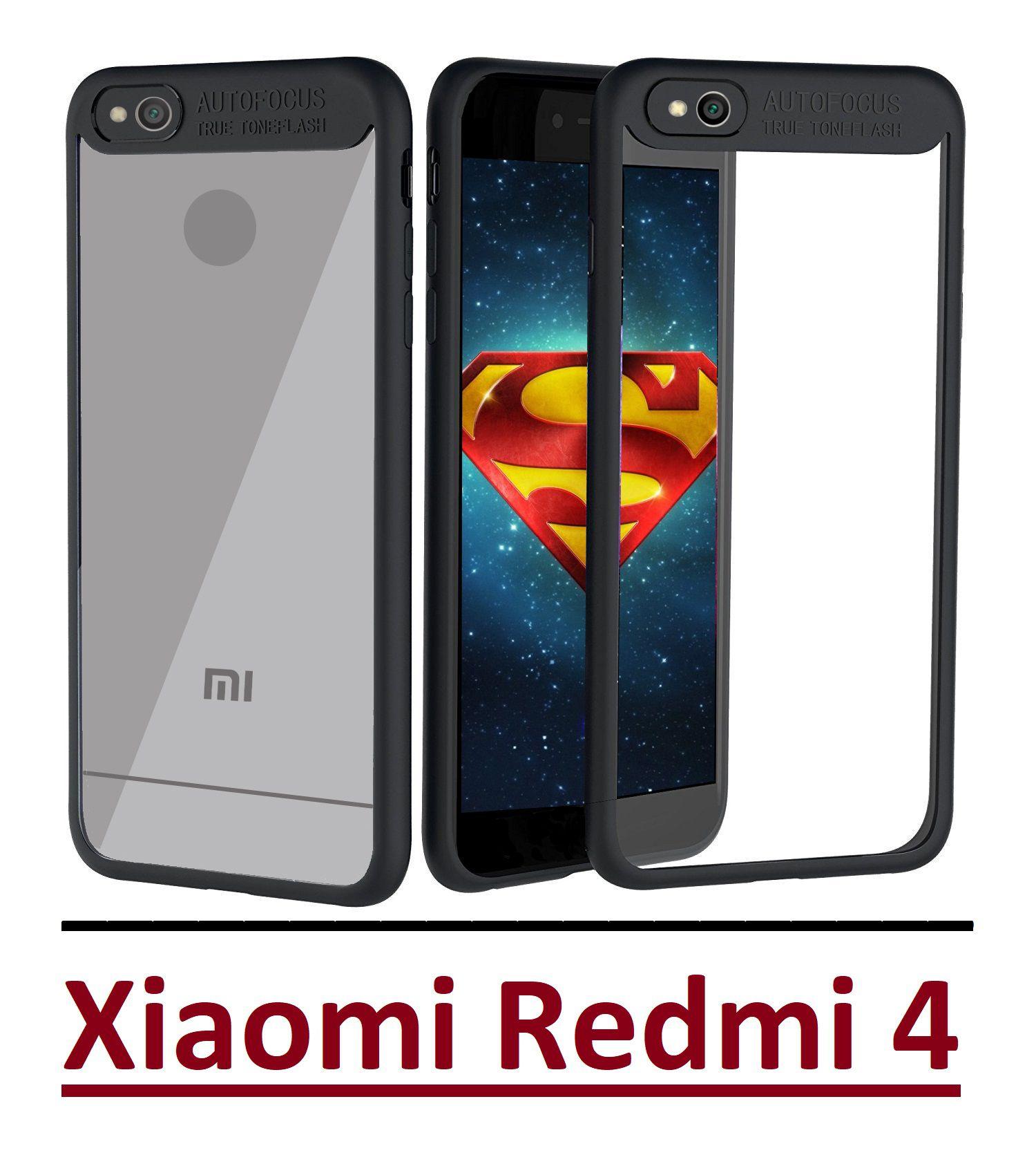 Xiaomi Redmi 4 Bumper Cases Ace HD Black