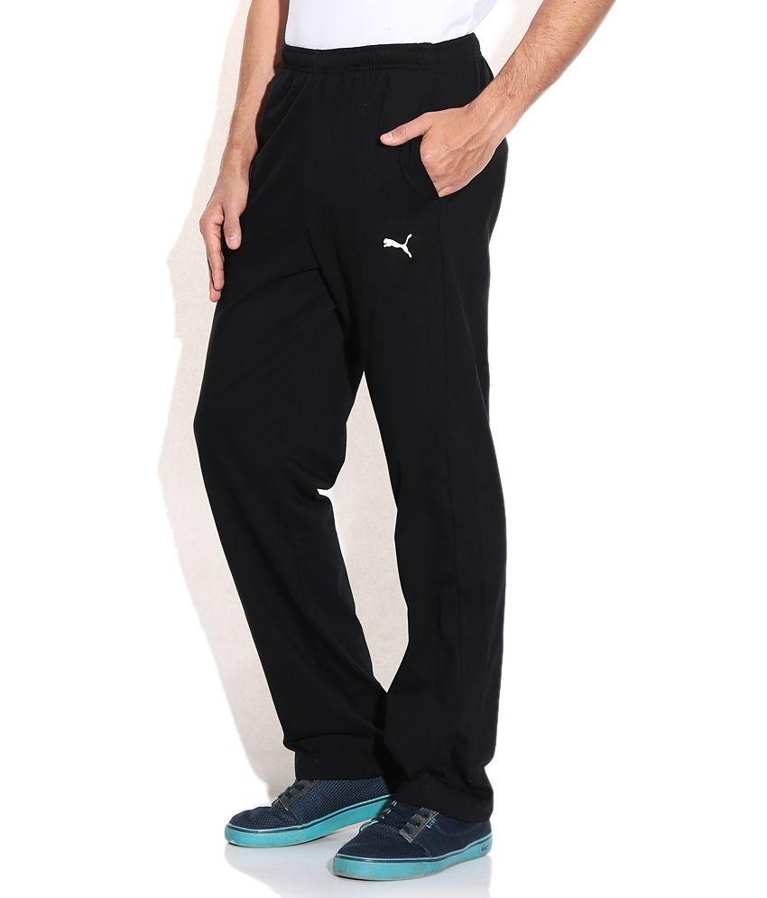 Puma Men Black Fitness Trackpant