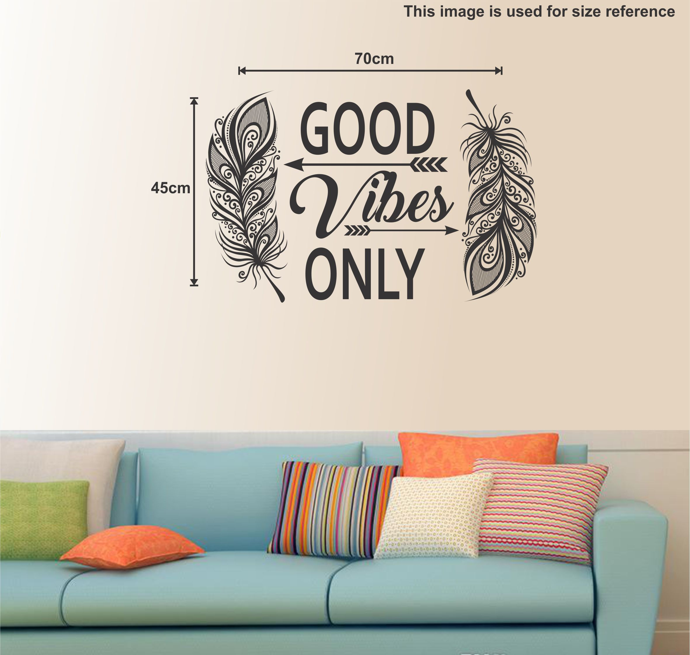 wall dreams Good Vibes Motivational Quotes Motivational Quotes PVC