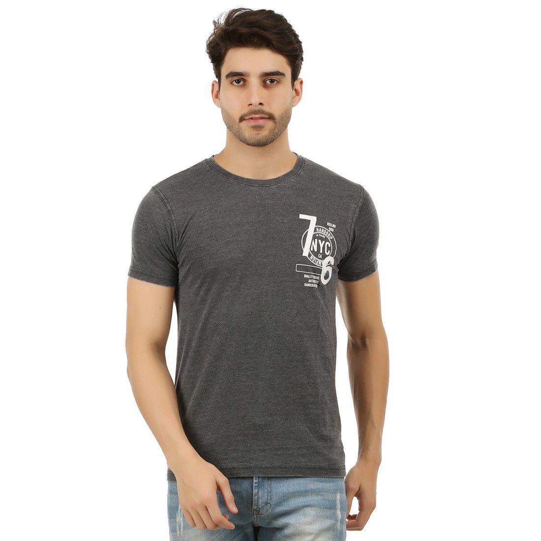 Handgrip Black Round T-Shirt Pack of 1