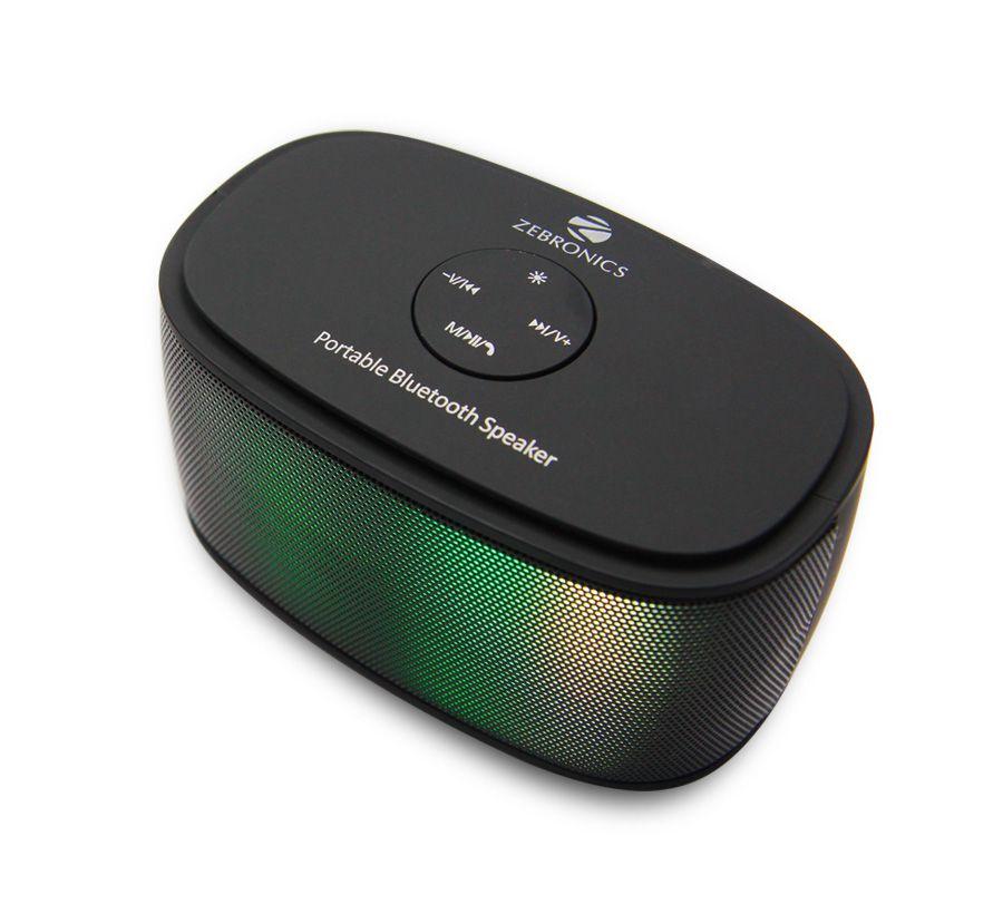 Zebronics Galaxy Black Portable Bluetooth Speaker