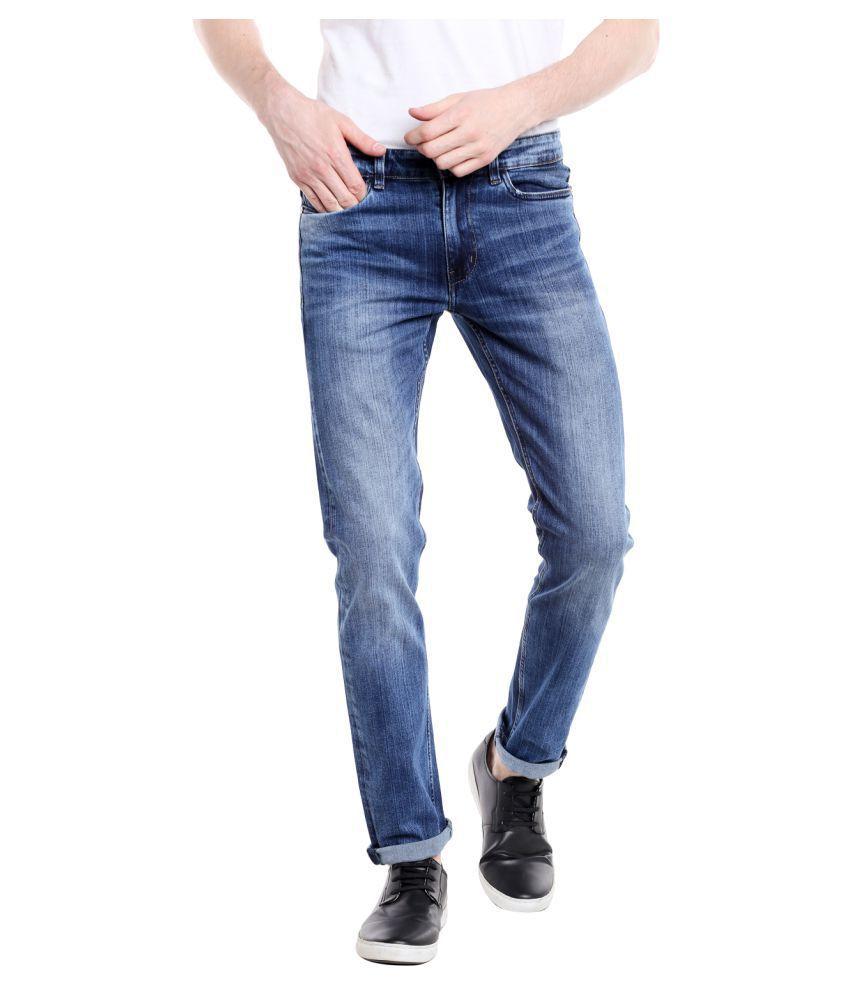 Fast n Fashion Blue Straight Jeans