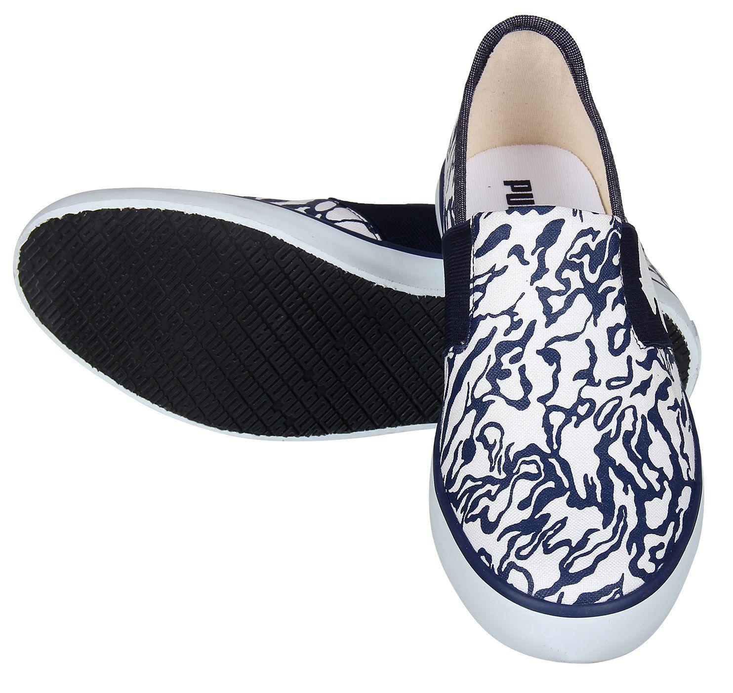 a51cef31dc96f Puma Men LAZY SLIP ON GU IDP White Casual Shoes - Buy Puma Men LAZY ...