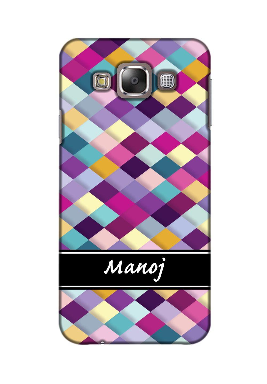 Samsung Galaxy E5 3D Back Covers By Printland