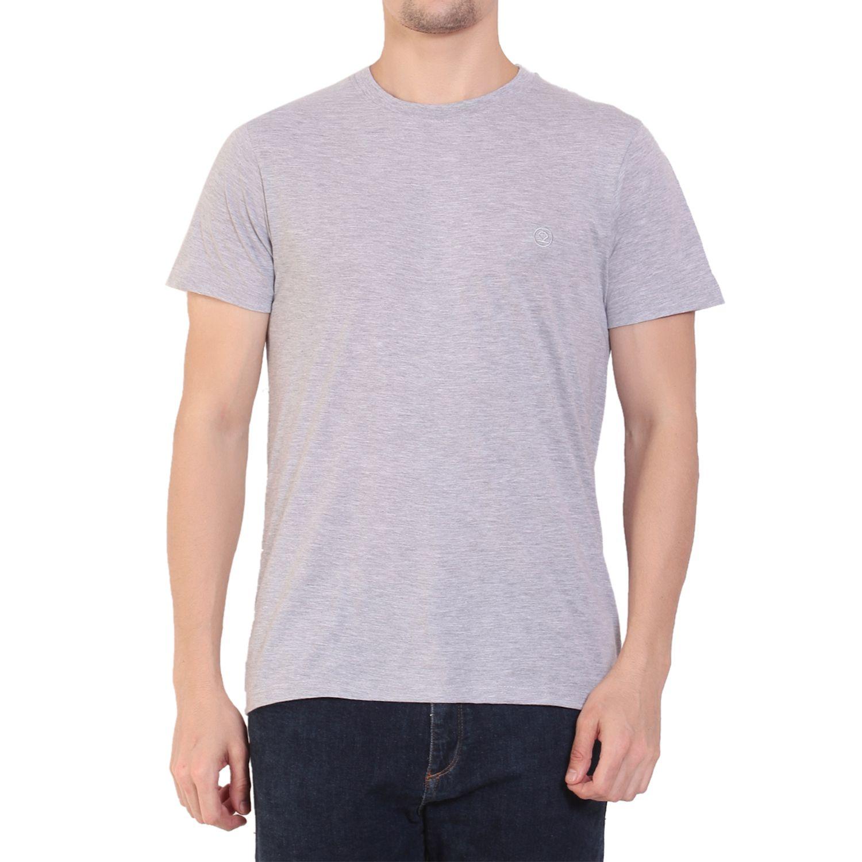 Chkokko Grey Round T-Shirt