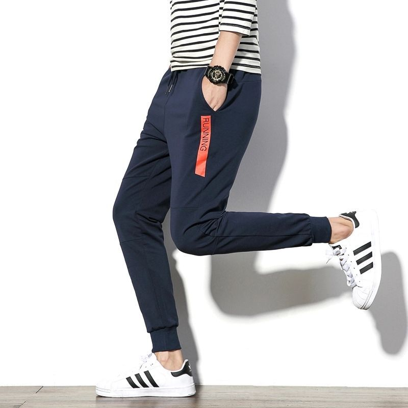6e2d9954ed Joggers Park Men Navy Blue Printed Cotton Track Pant: Buy Online at Best  Price on Snapdeal