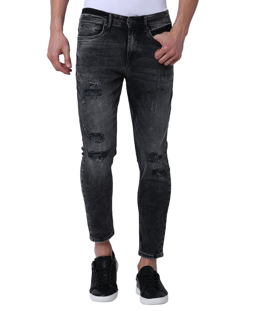 Locomotive Black Slim Jeans