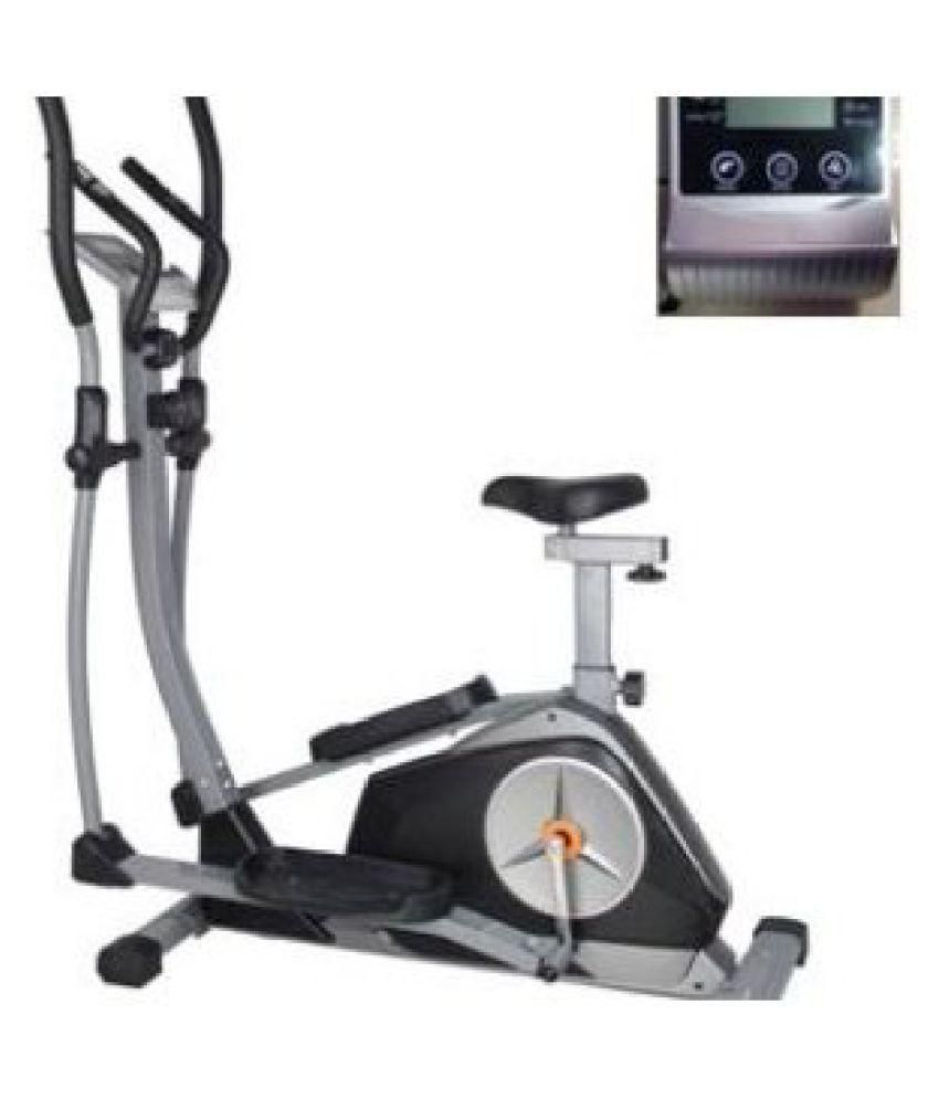 4bec6e15967 Think Fitness and Sports Elliptical Workout Trainer and Cardio upright  Exercise Bike with Heart Rate