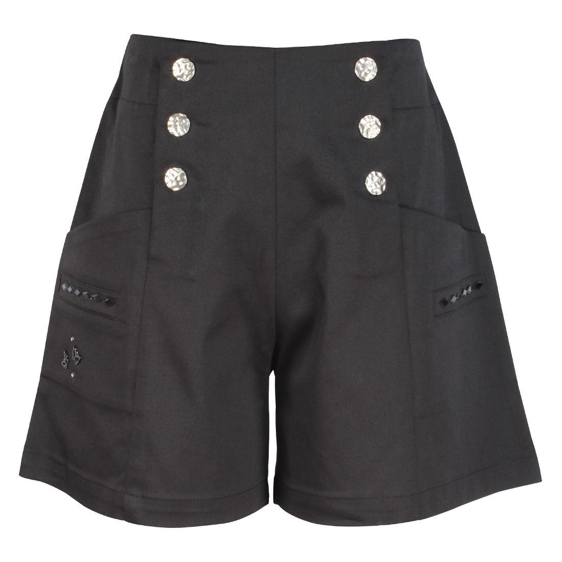 Cutecumber Girls Partywear Cotton Twill Shorts