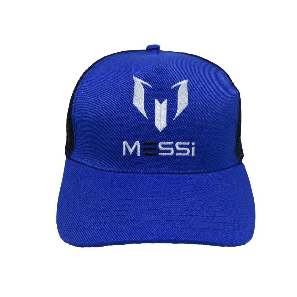 Kapture Headwear Blue Polyester Caps