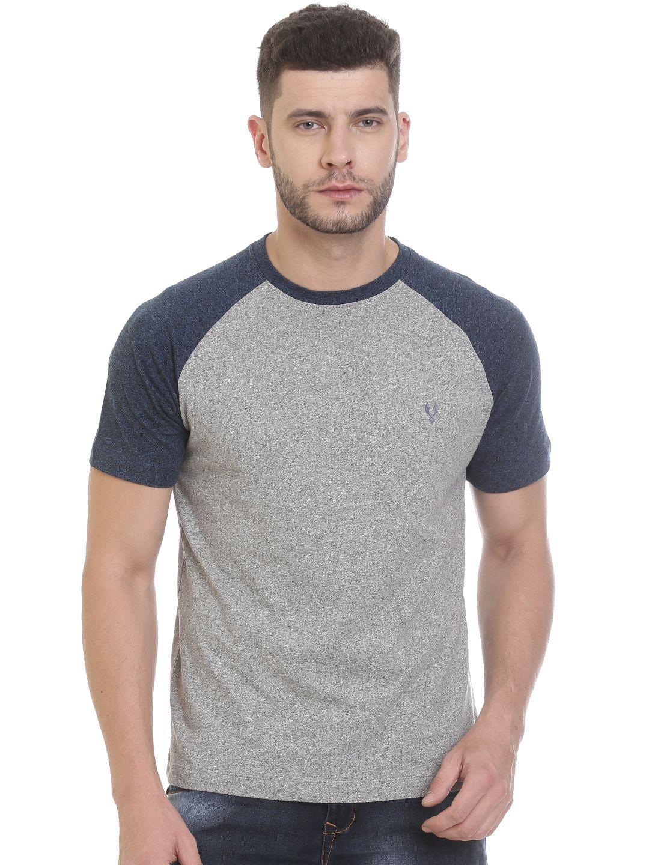 VUDU Grey Round T-Shirt
