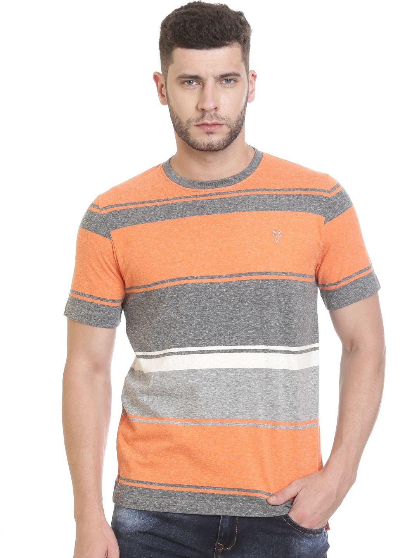 VUDU Orange Round T-Shirt