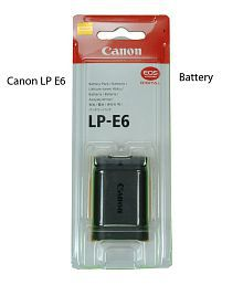 Canon LP-E6 Original Battery for EOS 5D Mark II, 5D Mark III, 60D, 6D and 7D digital cameras