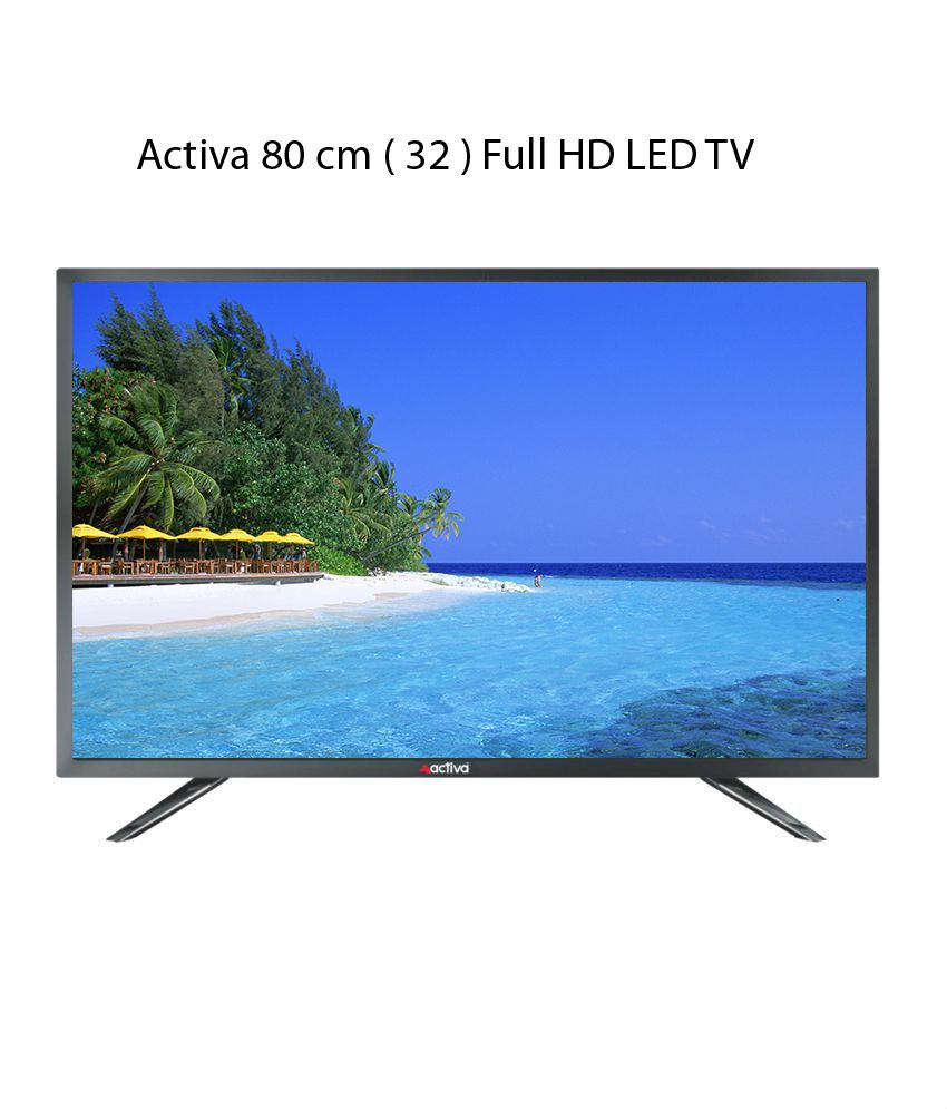 activa 32d60 80 cm 32 full hd fhd led television snapdeal price televisions deals at. Black Bedroom Furniture Sets. Home Design Ideas