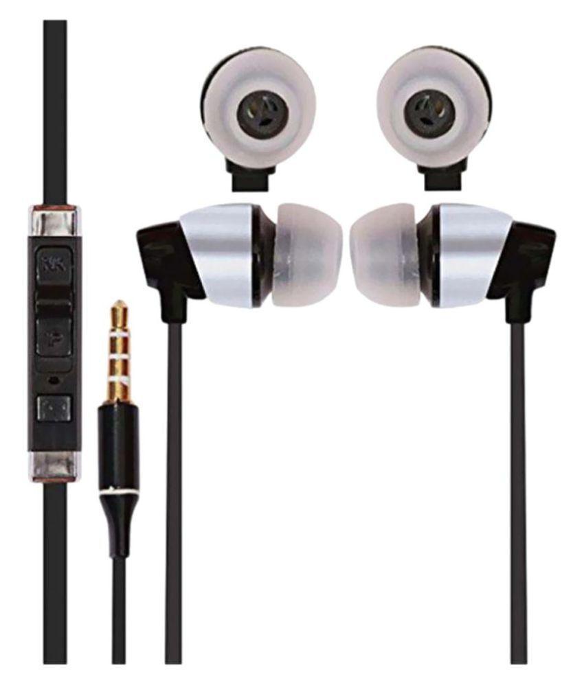 HI-SHE LOOKS KFM (1) Liquid 4G In Ear Wired Earphones With Mic - Buy ...