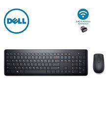 Dell KM117 Black Wireless Keyboard Mouse Combo
