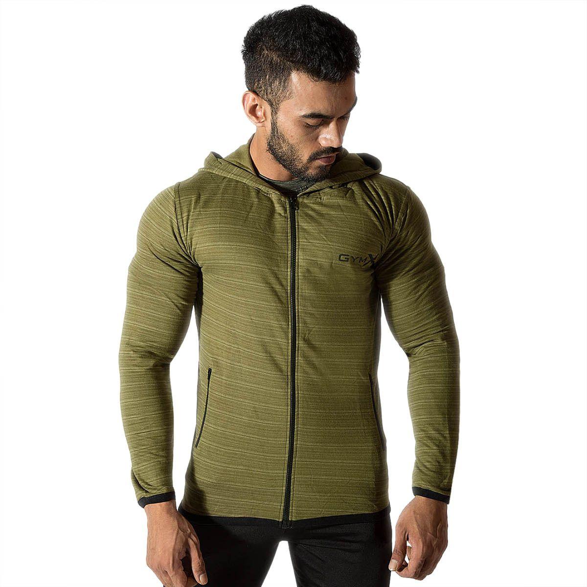 Mens Cotton Legacy Sweatshirt- Army Green