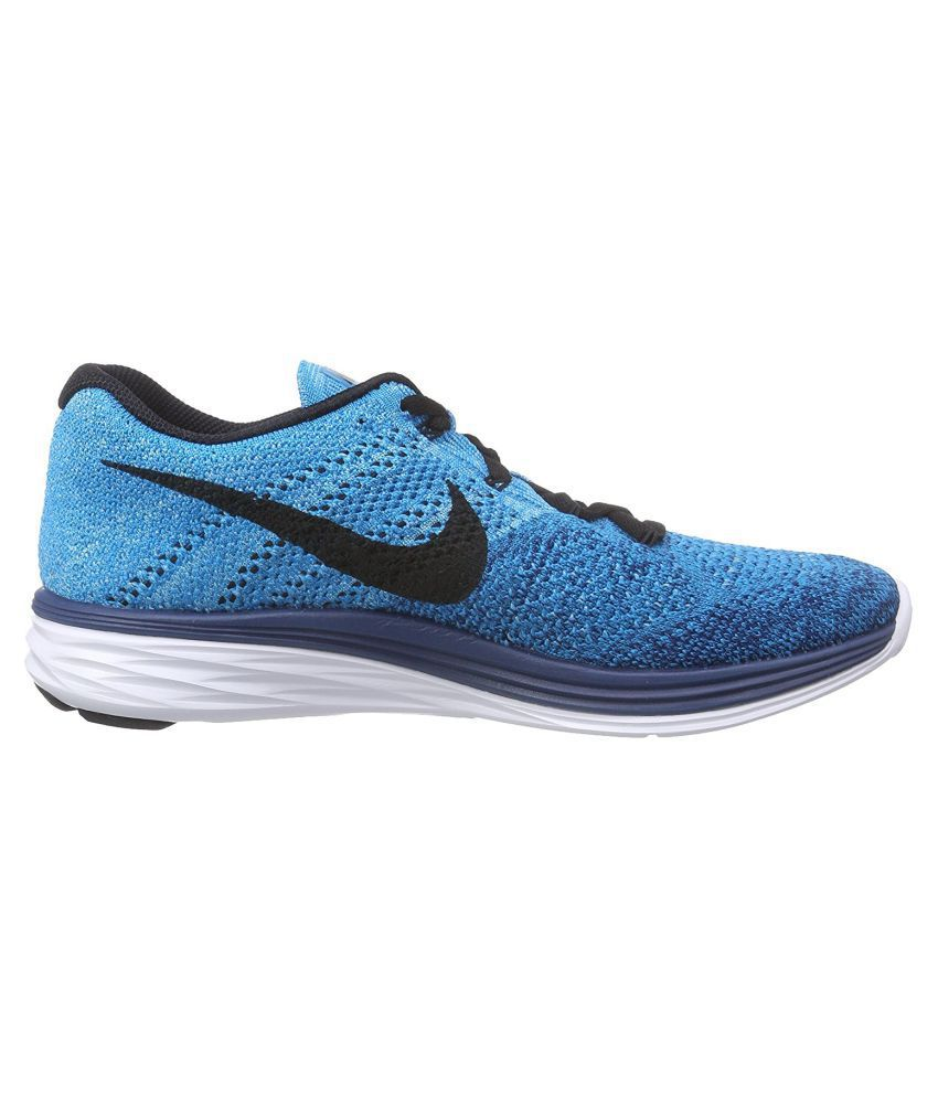 04528353bf09 Nike Flyknit Lunar 3 Navy Running Shoes - Buy Nike Flyknit Lunar 3 ...