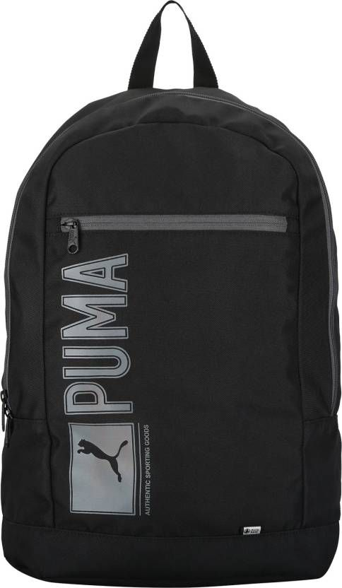 20366497ab Puma Branded Backpack Laptop Bag College Bag School Bag Black Poineer - Buy  Puma Branded Backpack Laptop Bag College Bag School Bag Black Poineer  Online at ...