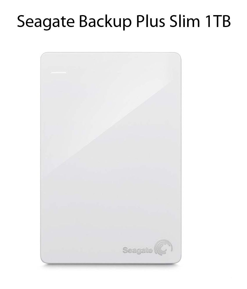 Seagate 1tb Backup Plus Slim Portable External Hard Drive With 2 2tb Usb 30 Harddisk Months Free Adobe Creative Cloud