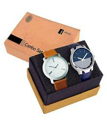 Evoto Buy 1 Get 1 Free - Anallog Watch for Men