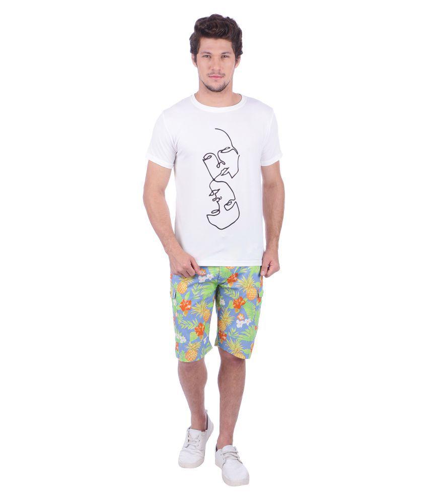 Indicolours Blue Shorts