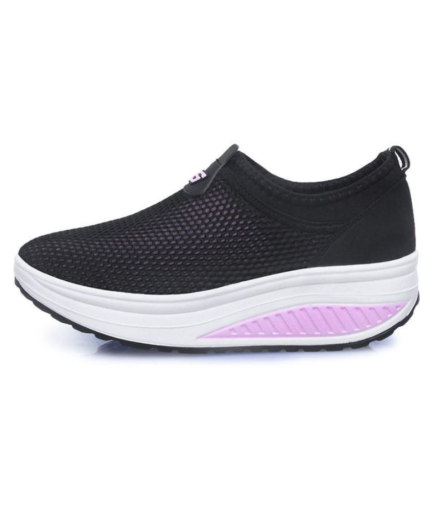 85cfc85524 Nis Women Platform Shoes Mesh Breathable Casual Fitness Walking Sport  Sneakers ...